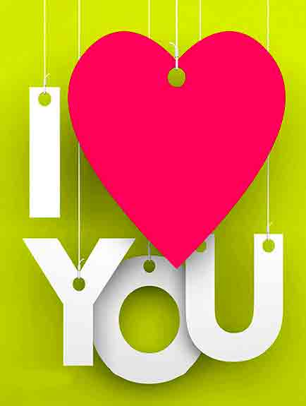 free hd I Love You Whatsapp Dp Images wallpaper photo download