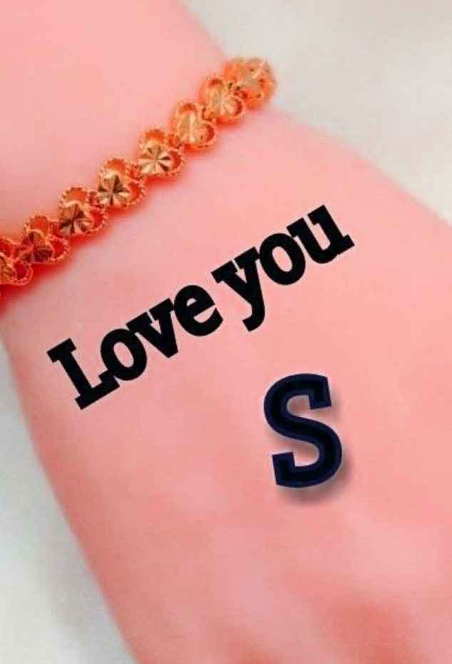 hand for S letter whatsapp dp images hd