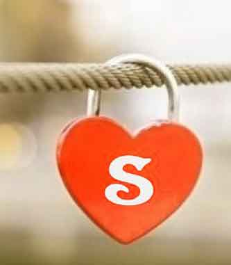 heart S letter Profile images hd