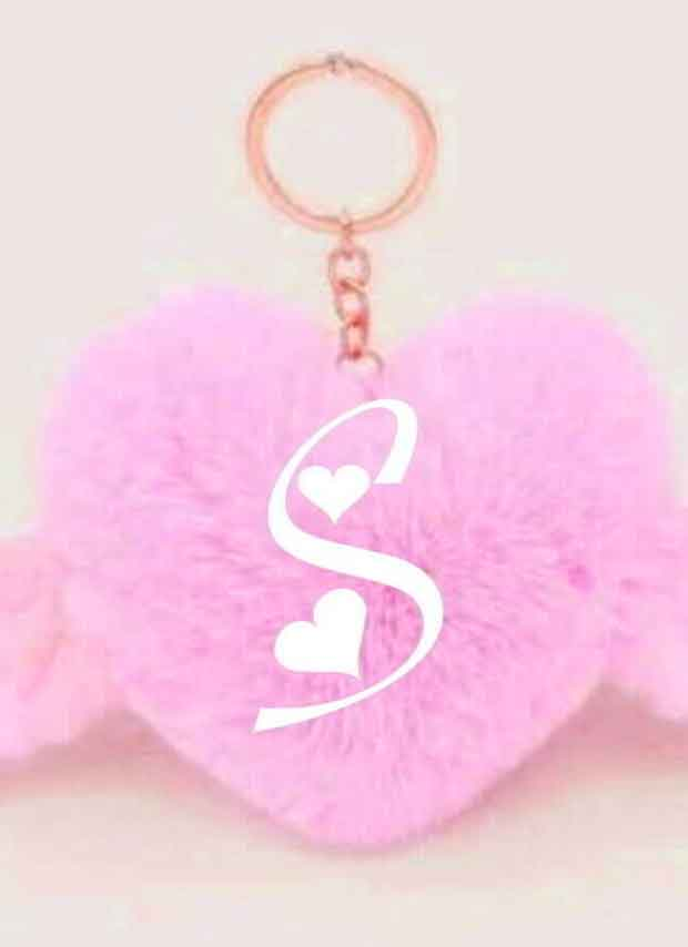 heart with S letter Whatsapp Profile hd