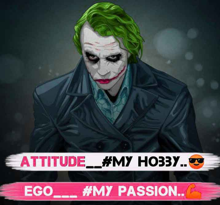latest Attitude images for dp hd download