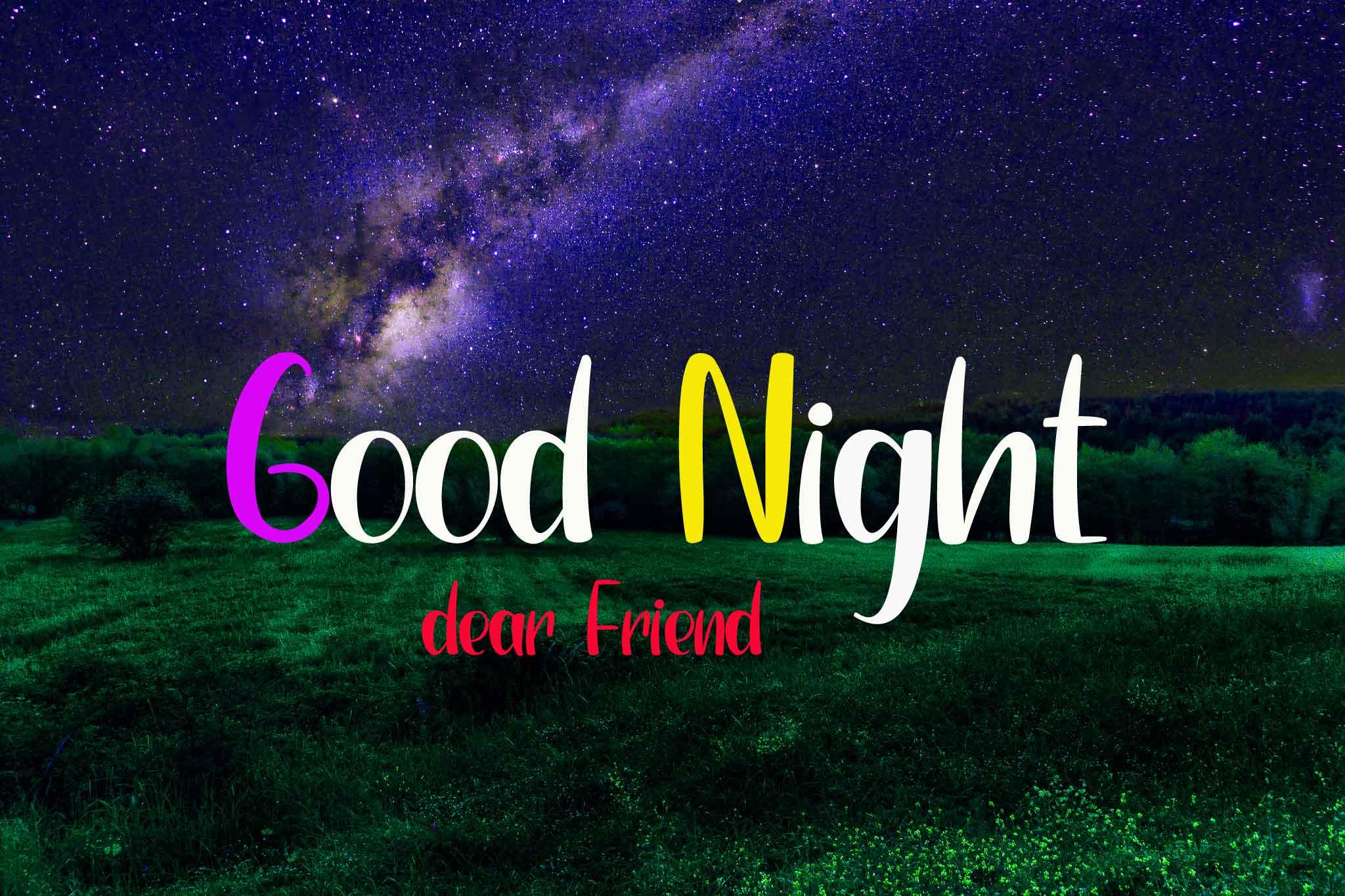 latest Good Night my dear friend pics