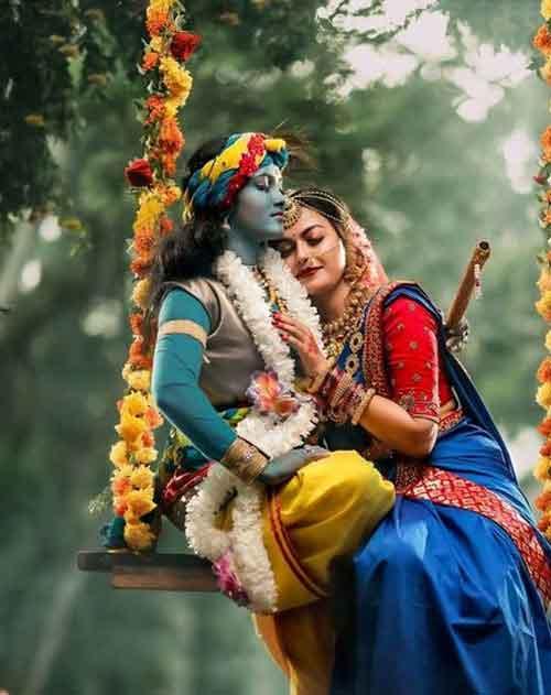 new hindu god radhe Krishna whatsapp dp photo