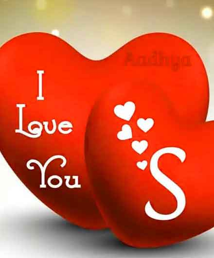 nice S letter whatsapp dp images for heart hd
