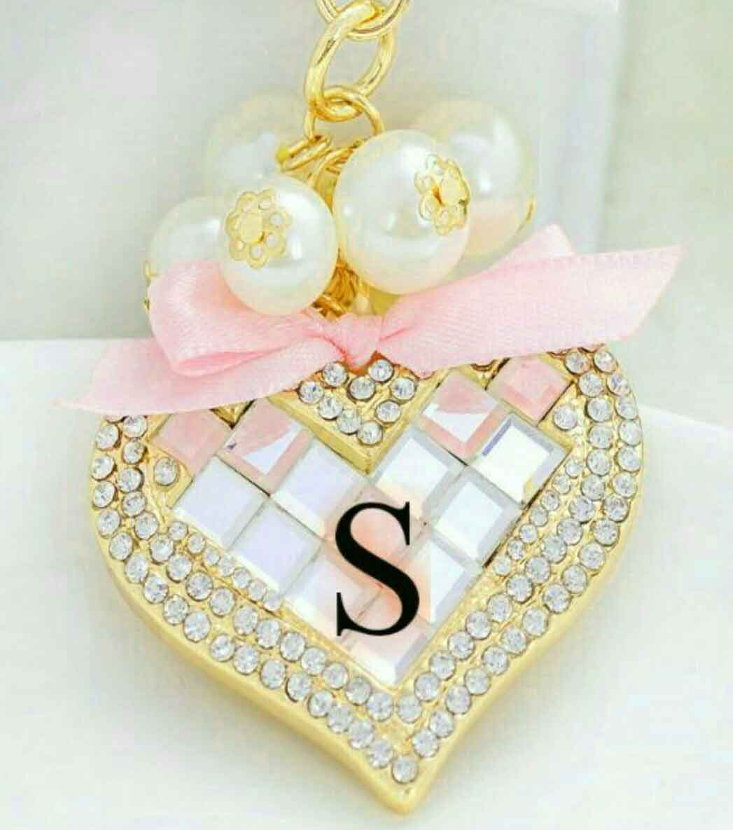 nice heart for S letter whatsapp dp images hd