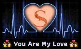 nice heart with S letter whatsapp dp free download