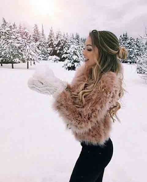 stylish Killer Girls Attitude Whatsapp Dp Images pictures fo r winter