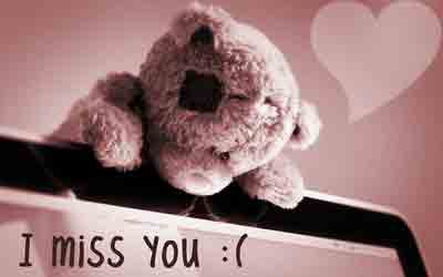 teddy I Miss You Images
