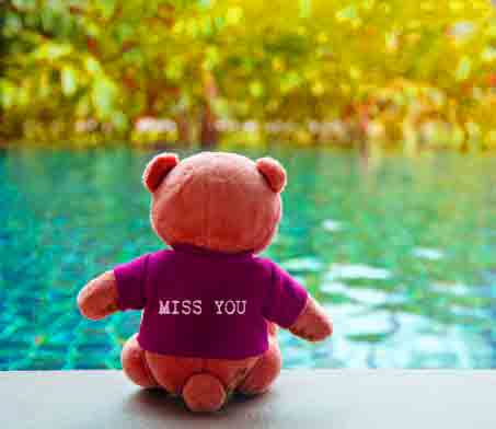 teddy bear I Miss You Images photo download