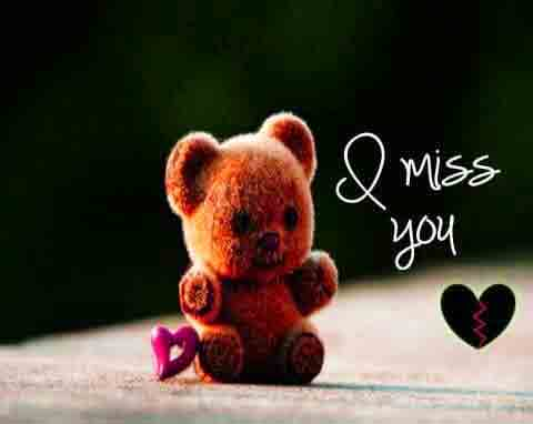 teddy bear I Miss You Images photo hd