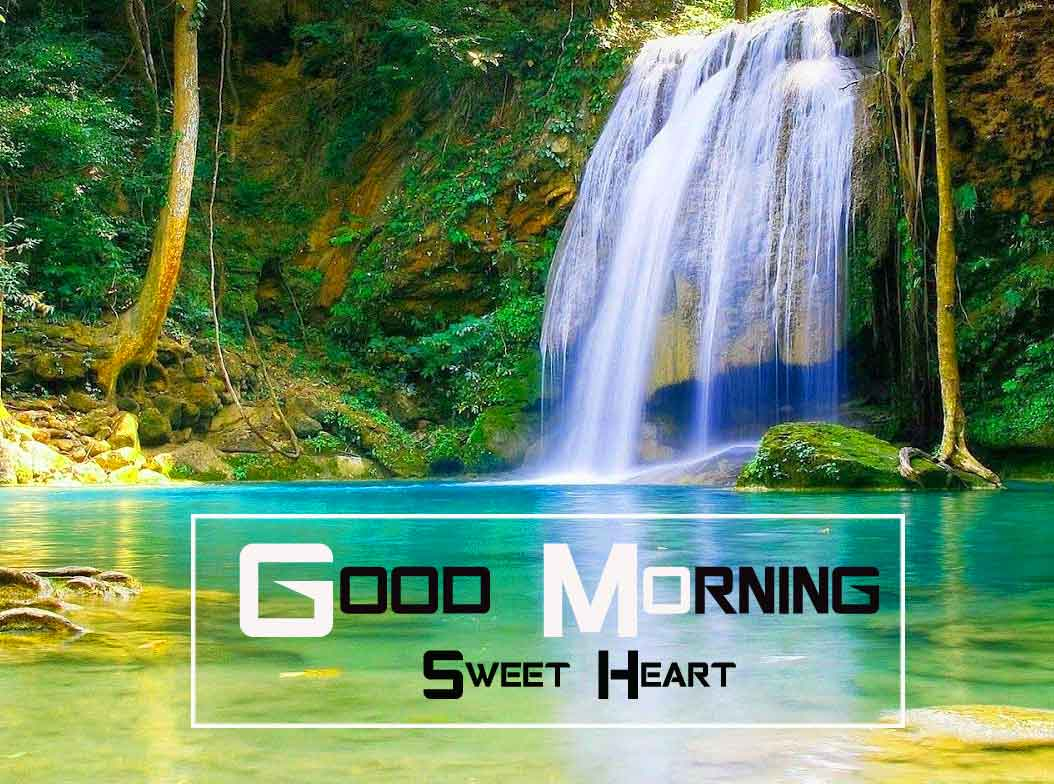 waterfall Good Morning Nature images