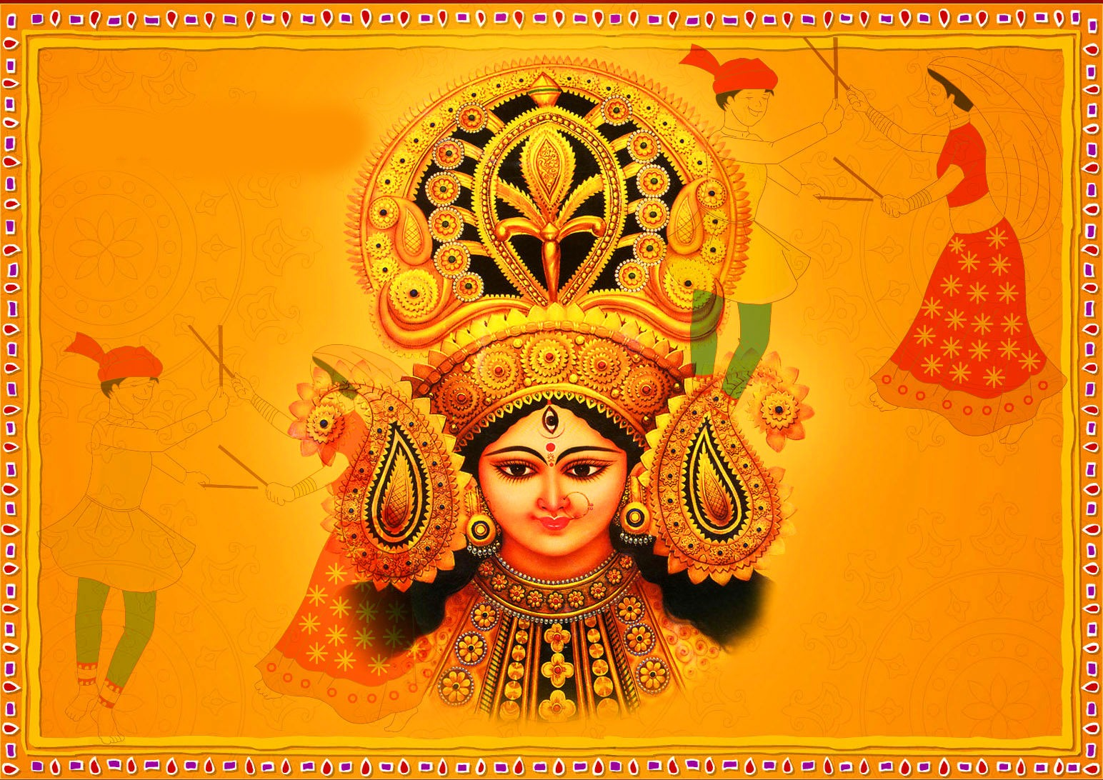 Beautiful Durga Maa Images photo for download