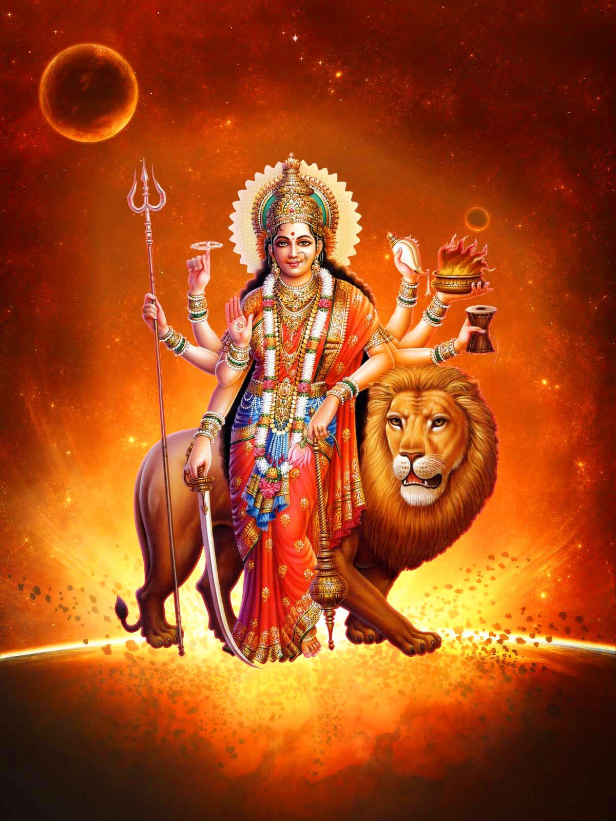 Latest Durga Maa Images wallpaper for free download