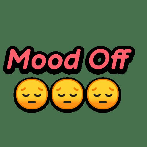 New Top mood off dp emoji Wallpaper