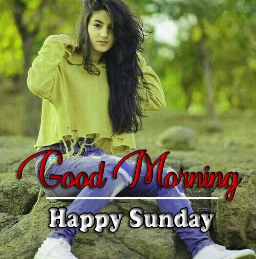 sunday good morning Pictures With Cute Baby