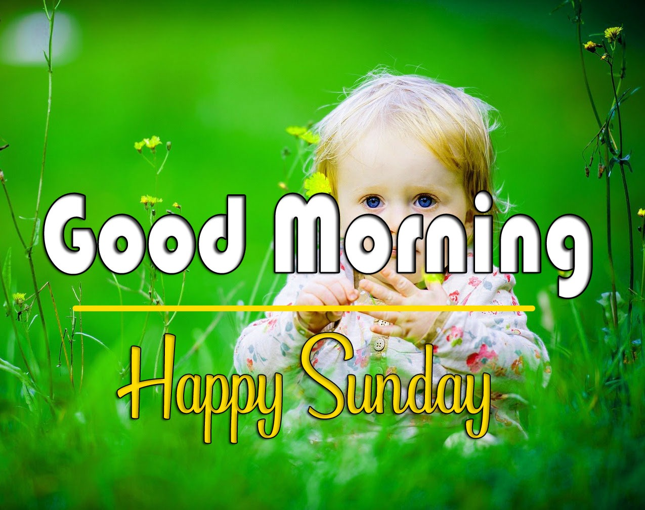 sunday good morning Wallpaper With Cute Baby